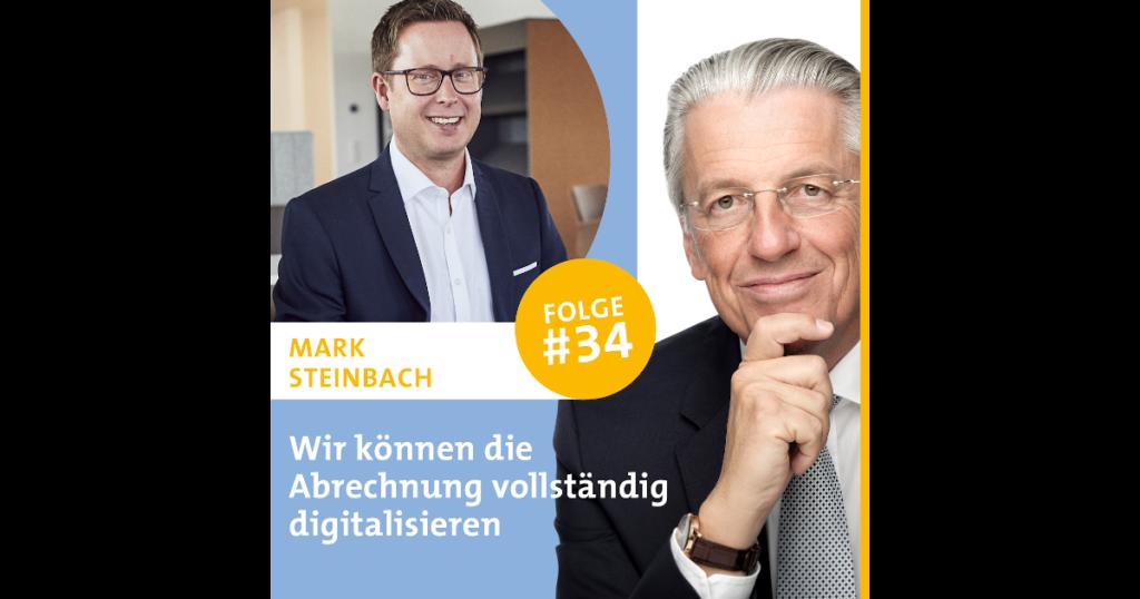 """Mark Steinbach ist Gast im Gesundheits-Podcast """"Diagnose: Zukunft! Das Corona-Special"""""""